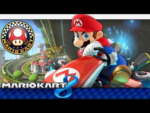 Mario Kart 8: Mushroom Cup 150cc + GIVEAWAY (4-Player