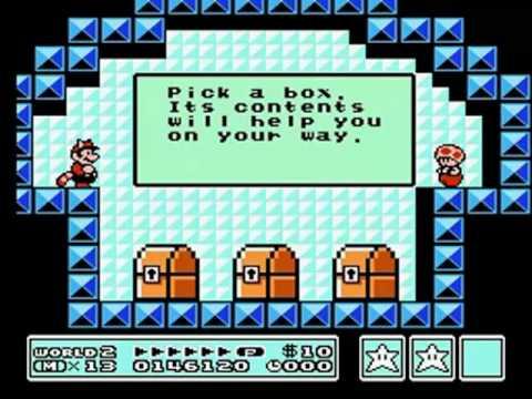 Super Mario Bros 3 Walkthrough World 8 Bowser S Castle Pt