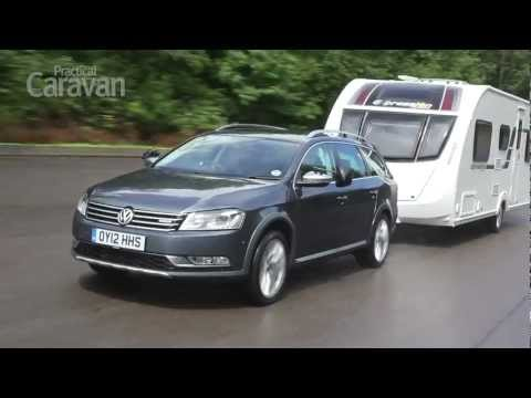Practical Caravan's Volkswagen Passat Alltrack 2.0 TDI 170 4Motion tow car review