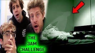 DON'T RECORD YOURSELF SLEEPING AT 3 AM (PARANORMAL ACTIVITY) w/ David Dobrik, Jason Nash