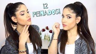 PEINADOS DE ARIANA GRANDE   Irresistible Me Hair Extensiones   Natalia Julia