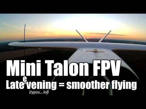 -mini-talon-fpv-first-real-flight-after-getting-it-set-up