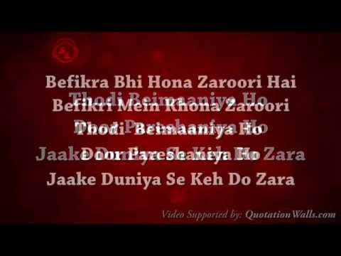 Befikra song full Audio with lyrics Tiger shrof