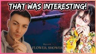 FIRST TIME REACTION TO 'HyunA'!! (Flower Shower)