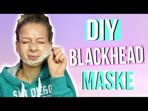 Wie die schöne Maske auf der Person zu machen