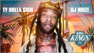 DJ Noize – The New LA Kings (Hosted by Ty Dolla Sign) |R&B Hip Hop Rap Mixtape |2017 Mix