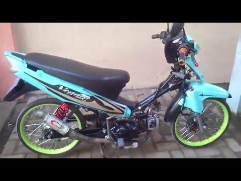Video Racing Motorcycle - Modifikasi Yamaha New Vega R