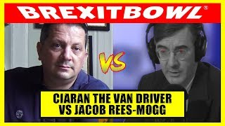 Ciaran Donovan From #3Blokes Takes On Jacob Rees Mogg On Customs Union