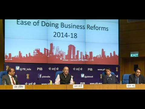 Union Ministers Suresh Prabhu and Arun Jaitley to release Ease of Doing Business Ranking