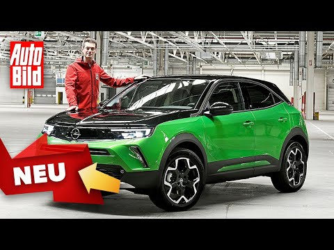 Opel Mokka/Mokka-e (2021): Neuvorstellung - Test - Preis - Marktstart - Info