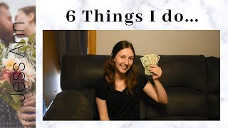 6 Things I Do Instead Of Spending Money | Budgeting / Finances | Baby Steps