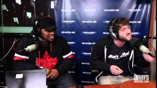 Lil Dicky Freestyle's on Sway in the morning over young thug beat - June 7, 2015