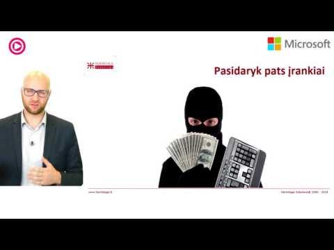 Prekybos kompiuterinės sistemos reikalavimai