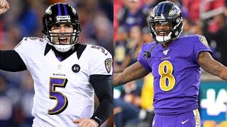 Joe Flacco or Lamar Jackson? Who is the best Ravens quarterback of all time?
