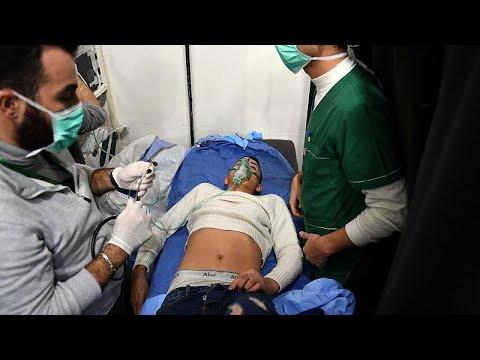 Επίθεση με τοξικά αέρια στο Χαλέπι