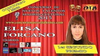 GANADORA del Segund PREMIO Nuevos Talentos Madrid
