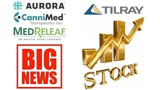 Why TIlray is worth 20 billion dollars. Big stock market news on Aurora