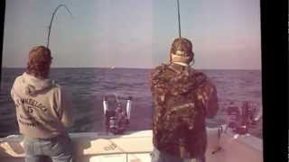preview picture of video 'Lake Ontario fishing charters,Oswego,NY13126'
