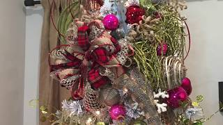 How To Decorate A Christmas Tree, How To Make A Tree Topper - DIY, Tips And Ideas