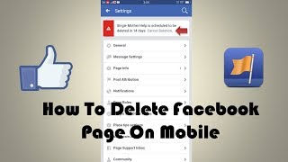 How To Delete Facebook Page On Mobile | Latest Updates
