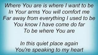 Ffh - Where You Are Lyrics