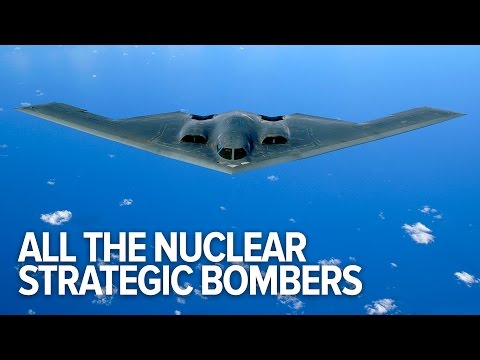 All The Bomber Aircraft That Could Carry Nuclear Weapons