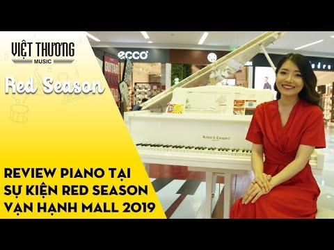 Review các sản phẩm piano tại sự kiện Red Season // Vạn Hạnh Mall