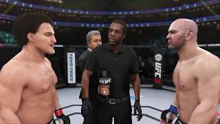 Ben Askren vs. Dana White (EA sports UFC 3) - CPU vs. CPU