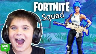 Fortnite Squad With HobbyPig