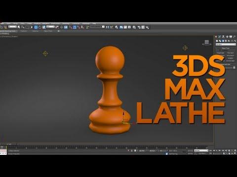 3DS Max Lathe Modifier Tutorial