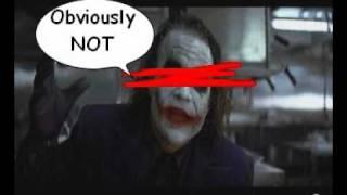 Rachel vs Harley Quinn [for Joker]: Ugly Girl