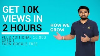 How to get 10k views in 2 hours | Grow like Technical Guruji | Get free Subscribers