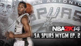 NBA 2K14: Spurs MyGM Ep.2 | Opening Night