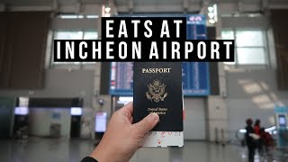 Gambar cover My Last Day in Seoul Incheon Airport Food - vlog #027