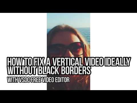 How to Crop Borders in VSDC Free Video Editor - смотреть