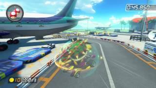 Sunshine Airport - 2:01.967 - なつ (Mario Kart 8 World Record)