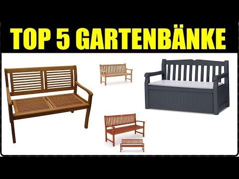 TOP 5 GARTEN SITZBANK MODELLE ★ Gartenbank & Truhenbank kaufen ★ Schöne Sitzbank für draußen ★ Bank