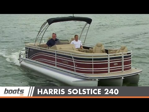 2015 Harris Solstice 240: Boat Review