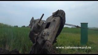 Подъем танка Т-34/76 Черкасская область