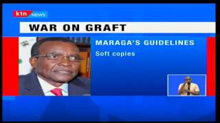 Prime: CJ David Maraga plans to speed up corruption cases and to be handled in under three months