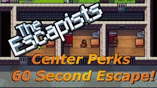 Center Perks - 60 Second Escape!  | The Escapists [XBOX ONE]