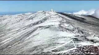 Hawaii Record, Snowfall, Cold and Wind Speed Four Islands (790)