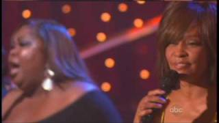 DWTS Finale- Whitney Houston w/pro dancers (2nd performance)