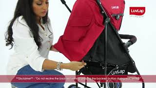 LUVLAP CITY STROLLER BUGGY- BEST BUGGY FOR BABIES – FEATURES VIDEO