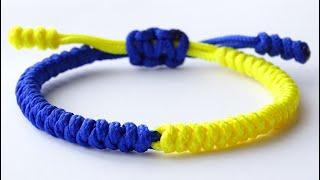 Tibetan Style Bracelet - DIY 2 Color Snake Knot Macrame / Paracord Bracelet - CBYS Tutorial