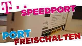 Minecraft Port freischalten | Telekom Speedport (W 921V) Router Tutorial [German/HD+]