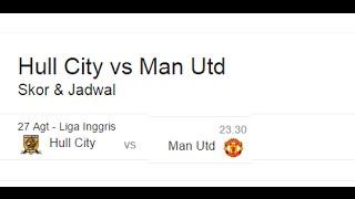 Hasil Akhir Manchester United Vs Stoke City 27 Agustus 1  0