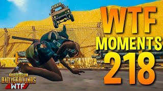 PUBG Daily Funny WTF Moments Highlights Ep 218 (playerunknown