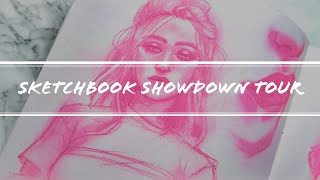 Sketchbook Showdown Tour | Collaboration with Juicy Ink