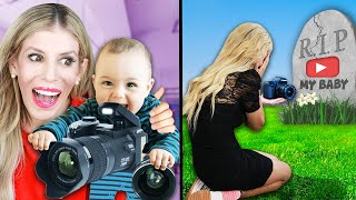 BIRTH TO DEATH IN REAL LIFE of a Youtuber - Rebecca Zamolo